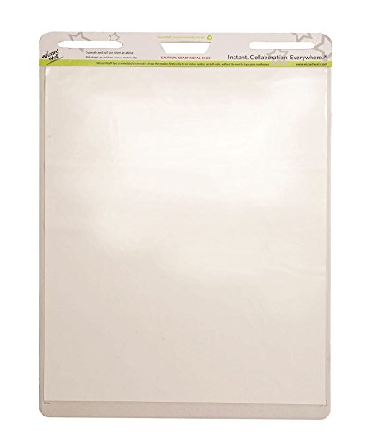 Wizard Wall Dry Erase Easel Pad, 15 Reusable And Self Tearing Easel Pads Sheets Pad, 24'' x 29'', White, 2-Pack by Wizard Wall