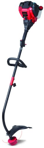 Troy-Bilt TB525 EC 29cc 4-Cycle 17-Inch Curved Shaft Trimmer by Troy-Bilt