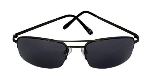 FG110 Black Grant metal brazos Arma Protección montura y hombres UV400 Lentes 100 punta para de de de semirredonda Rectángulo gafas 2 CAT Gun SPVL14920 Foster sol completa de negra UV wTqEaT