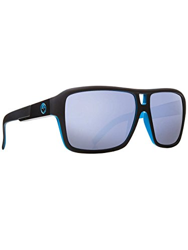 Dragon Alliance Matte Black Sky Blue Ion The Jam - The Sunglasses Jam Dragon