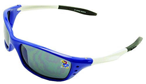 NCAA Kansas Jayhawks Sunglasses with Rectangle White - Cheap Wholesale Sunglasses Oakley