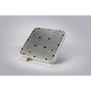 UHF RFID Reader Antenna, Bestga BSRA-02SR IP65 902-928MHz 6dBic Circular Rfid Antenna with SMA-50KFD Connector Suitable for Entrance Guard, Warehouse and Retail Item Management and etc