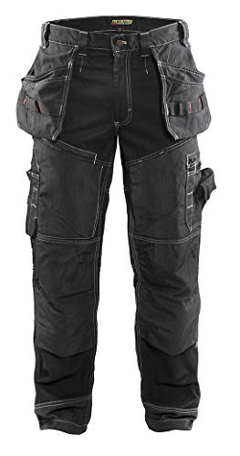 Blaklader X1600 Work Pants Black 34 - Warrior Mascot