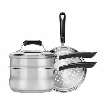 4 Pc Stainless Steel Cookware by Range Kleen