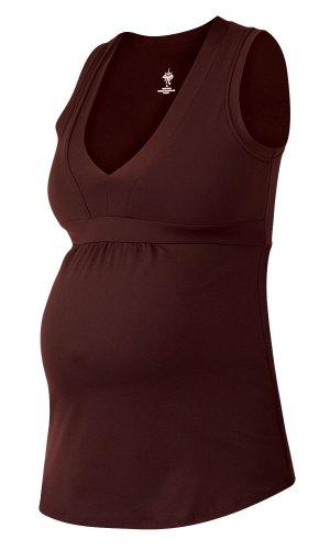 prAna Women's Luna Maternity Top,Espresso,Small