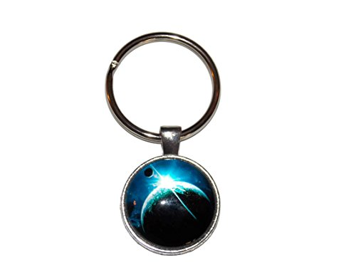 Outer Space Planetary Keychain – Old School Geekery TM Brand Key Chain Rings