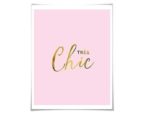 Amazon com: Très Chic Gold Foil Print  36 Background Colours