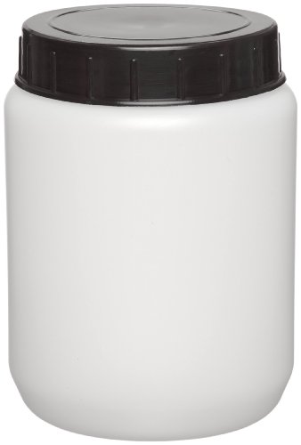 (Kartell 226415-0250 HDPE Cylindrical 250mL Lab Specimen and Storage Jar, with Cap (Pack of 10))