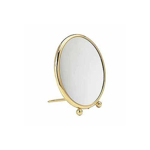 Arpin Fidji Travel Mirror (7 inch face 9x Nickel) by Arpin