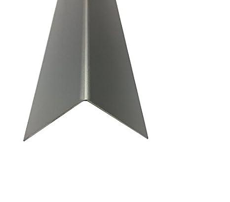 Sockelleiste AluminiumWinkel Eloxiert Silber natur 2000 mm 1,0 mm 40 x 30 x 1,0 mm