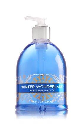 Bath & Body Works Winter Wonderland Decorative Hand Soap w/