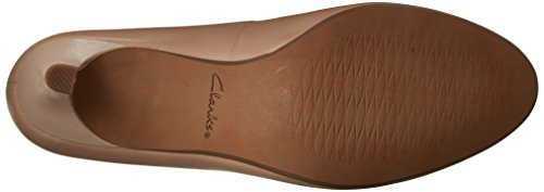 Heart CLARKS Women's Heavenly Nude Dress Pump Leather 80zE0qw