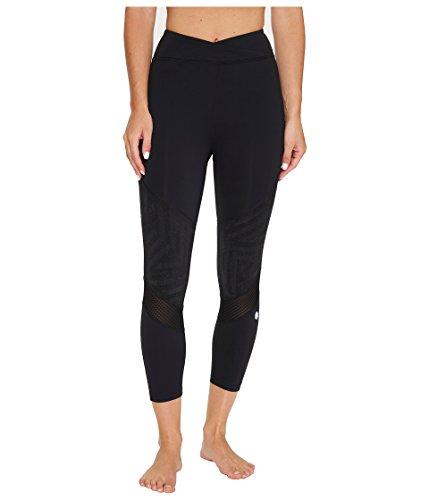 ASICS Women's Lite-Show Capri Pants, Performance Black, Medium