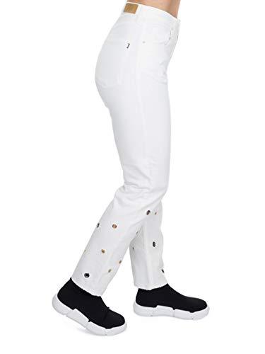 Jijil jeans bianco jeans Jijil bianco PJ064 occhielli occhielli PJ064 jeans Jijil X14qnHa66