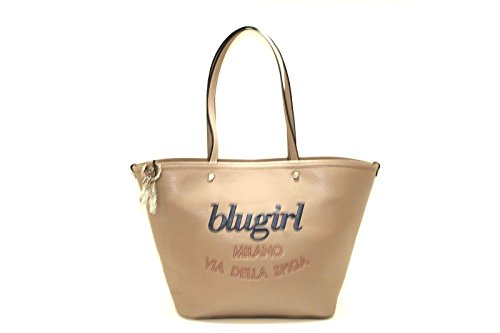 Borsa blugirl shopping con logo ricamato new collection 2017