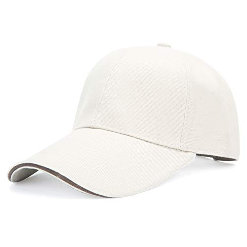 Mount Marter Baseball Cap Hat High-end Copper Buckle Sports Hats Cotton Adjustable for Men Women ()