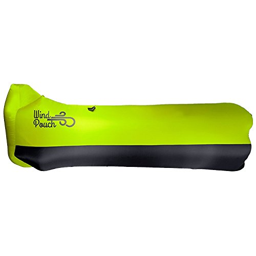 WindPouch Lite Inflatable Hammock, Chartreuse Green (Atlanta Hammocks)