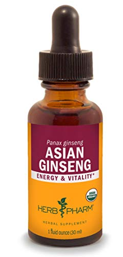 Herb Pharm Asian (Panax) Ginseng Liquid Extract for Energy and Stamina Support - 1 ()