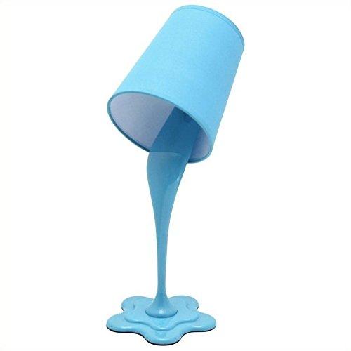 Lumisource Table Plastic (LumiSource LS-L-WOOPSY BU Desk Lamp, Blue)