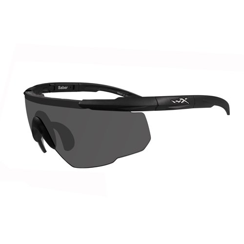 Wiley X Saber Advanced Smoke Grey Light Rust Lens Matte Black Frame
