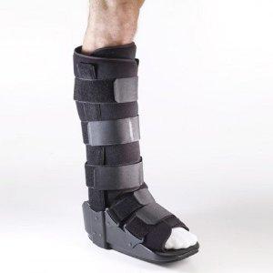 Corflex Walker - Corflex Lower Leg Fixed Cam Walker Boot for Sprained Ankle-XL - Black