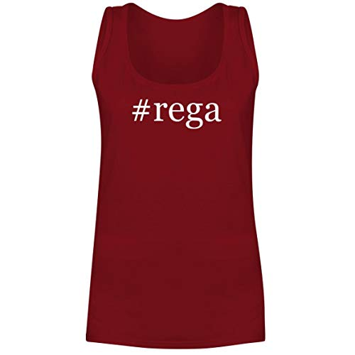 #rega - A Soft & Comfortable Hashtag Women's Tank Top, Red, XX-Large (Best Cartridge For Rega Rp3)