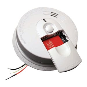 rdwire Ionization Smoke Alarm with Battery Backup ()