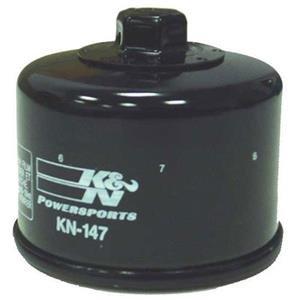 Black K/&N Performance Oil Filter