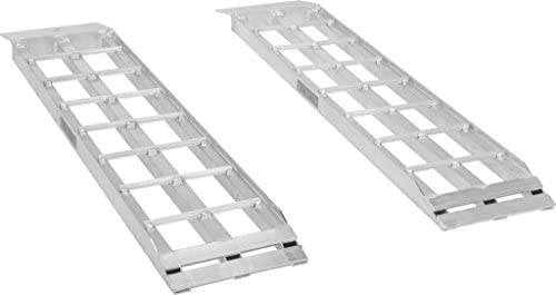 Apex Aluminum Dual Runner Shed Ramps U2013 S 368 1500   Lightweight U0026  High Strength Loading Ramps U2013 1,500 Pound Total Weight Capacity U2013 Sold In  Pairs U2013 One Year ...