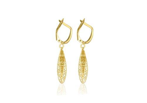 Carissima Gold - Boucles d'oreilles clous - Or jaune 9 cts - 1.54.3899