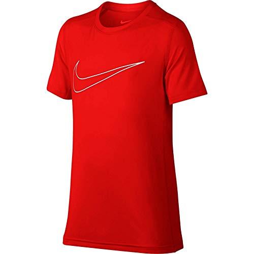 shirt Boys Red Kids Nike Big White T Training Champion Dry CYxqRFp