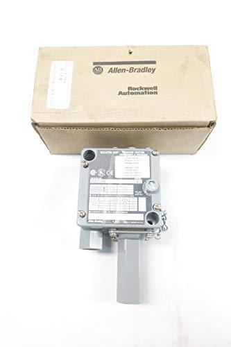 ALLEN BRADLEY 836T-T254J Pressure Control Switch 20-300PSI 120-600V-AC D662941