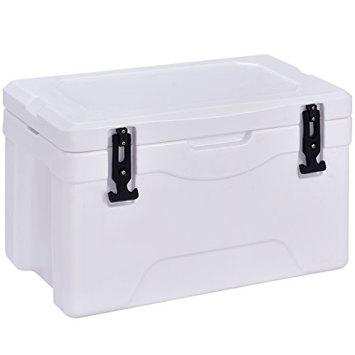 - Giantex 32 Quart Heavy Duty Cooler Ice Chest Outdoor Insulated Cooler Fishing Hunting Sports