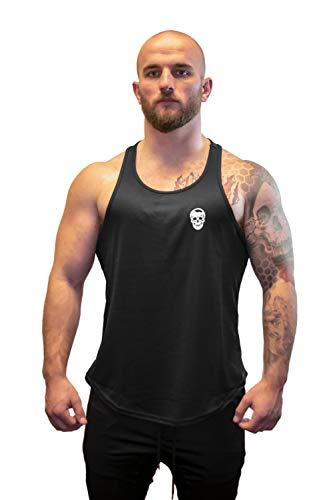 Gymreapers Stringer Tank Top for Men - Workout, Bodybuilding, Weightlifting Polyester Racerback