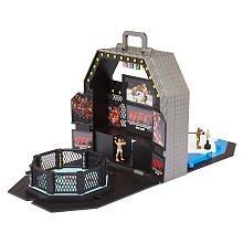 UFC Micro Playset with 4 Figures (Silva, Penn, Ortiz and Liddell)