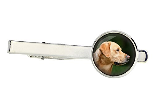 Labrador Retriever, Tiepins for Dog Lovers, Photo-Jewelry, Jewelry for Men, Handmade