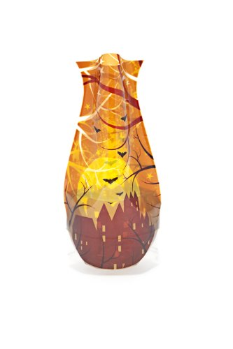 MODGY Collapsible & Expandable Plastic Vase, Falluponus Halloween-Themed Myvaz, Durable, Safe, NOT Glass, Great for Parties, Pools, Patios, Weddings and Celebrations of All Kinds, 66128]()