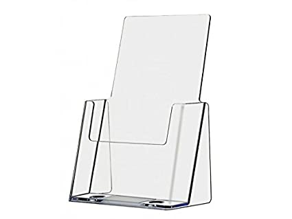 Amazon 40 Pack Clear Acrylic Brochure Holder Counter Top Extraordinary Literature Display Stands Canada
