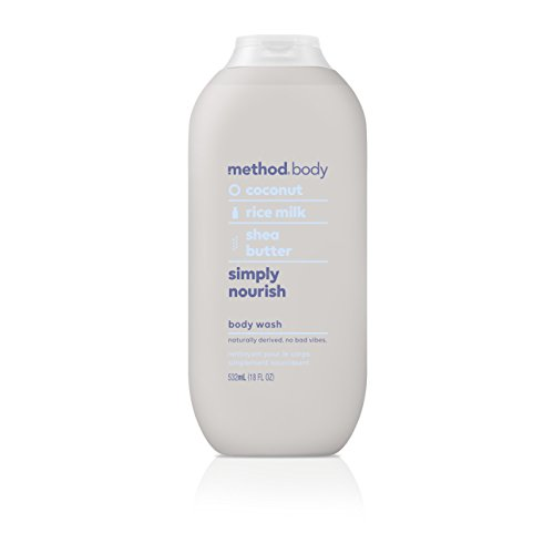 Method Body Wash, Simply Nourish, 18 Ounce (6 Count)