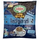 SUPER INSTANT COFFEE MIXED LOW SUGAR 15G. PACK 25SACHETS