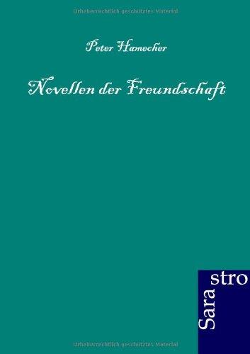 Novellen der Freundschaft (German Edition) pdf epub