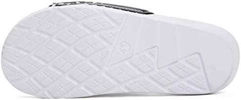 31X%2BjR8UwcL. AC Men's Athletic Adjustable Slide Sandals with Velcro Lightweight Comfort Slip On Sport Slippers    Product Description