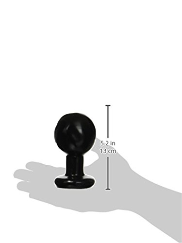 Classic Round Butt Plug, Large, Black - Buy Online In Uae -5594