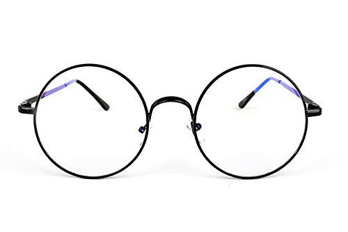 94a8ca207f Retro Clear Lens Nerd Frames Glasses Vintage Round Full Metal Prince  sunglasses