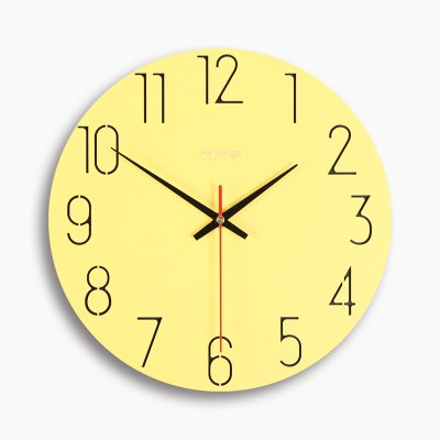 RBB リビングルームの壁掛け時計クロックシンプルな穿孔の寝室の静かな北ヨーロッパの小さな新鮮なデジタル時計ウォールクロック,12インチ,スカイブルーのデジタル B07DL74VNQ 12インチ|スカイブルーのデジタル スカイブルーのデジタル 12インチ