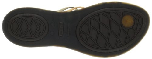 Or Tongs bronze Crocs espresso Huarache Femme C07wxCqH8