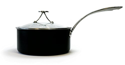 Tyler Florence 3 Quart Steel Clad Sauce Pan with Lid
