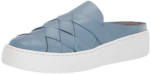 Aerosoles Women's Martha Stewart Wax Paper Mule Blue Leather 8 M US