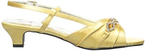 para Annie Vestir suave Shoes Sandalias Dorado Mujer de wnwHItz8Tq