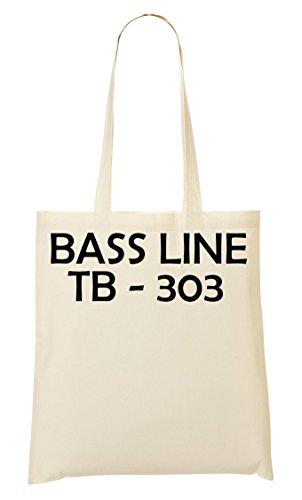 Bass Line Tb-303 Tb Bass Station Analogue Bolso De Mano Bolsa De La Compra